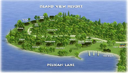 Island View Resort Rendering